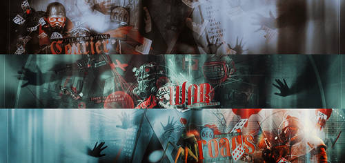 Fallout banners