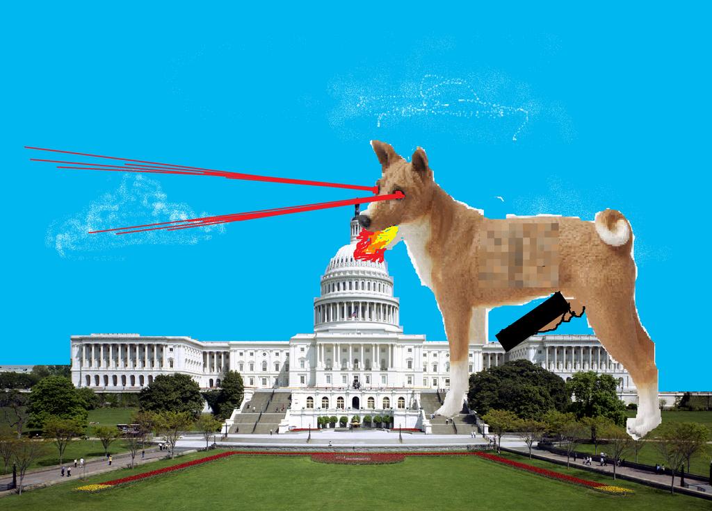Lazer Dog Sfw by irrelephant132