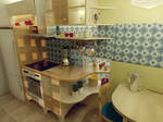 kitchen 4 - detail - kitchen counter