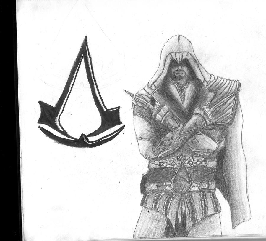Assassin's Creed Ezio by xEpicDorito678