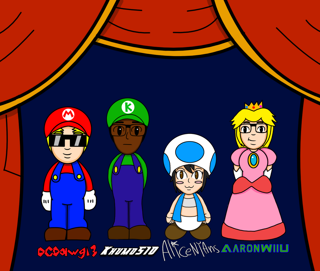 Super Mario Bros 2 Character Select By Dcdawg13 On Deviantart