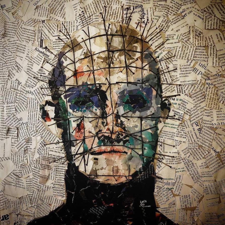 Pinhead Portrait by DevonNicoleArt