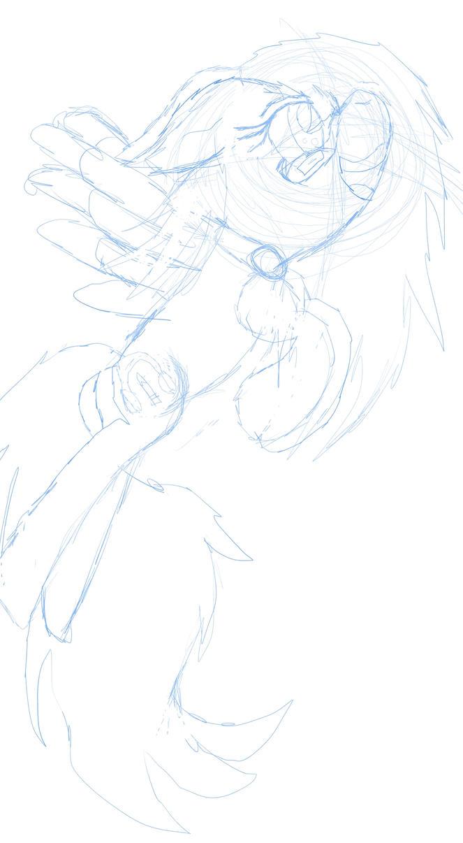 Random sketch wensday by YoshiLuigiFan22