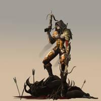 Diablo 3 Demon Hunter by bani12