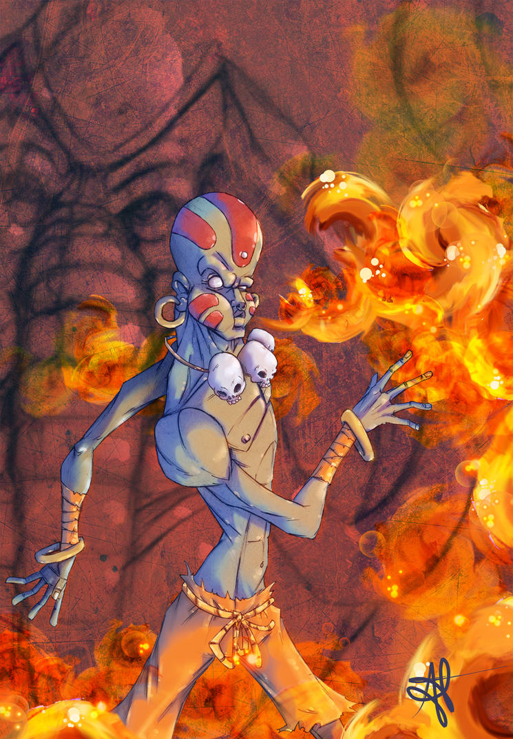 Dhalsim by alecable