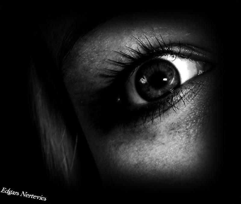Scary Girl EYE By Pahars On DeviantArt