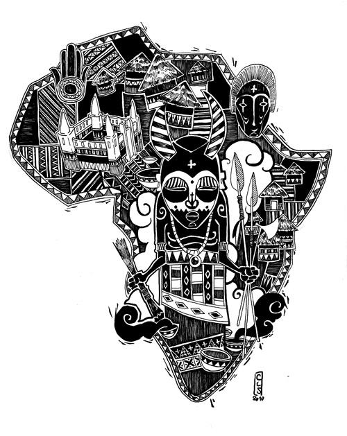 Magic Africa by Catell-Ruz