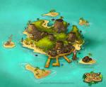 Vulkania island