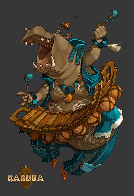 Hippo Balafon by Catell-Ruz on DeviantArt