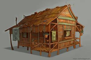 ORANGE HOUSE by Catell-Ruz
