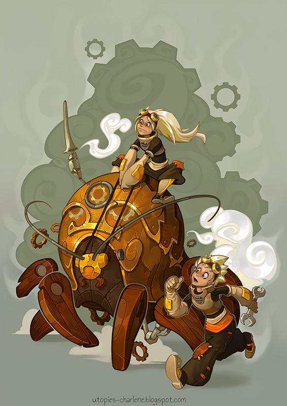 Dofus steamers by Catell-Ruz