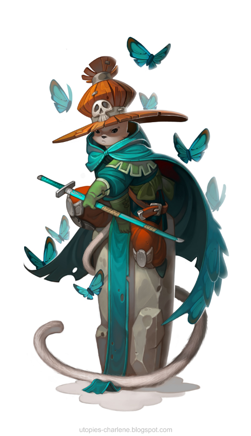 Cat Mage by Catell-Ruz