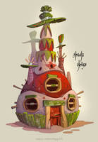 Pinata House by Catell-Ruz