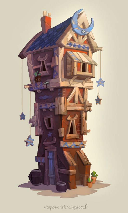 Moon House by Catell-Ruz