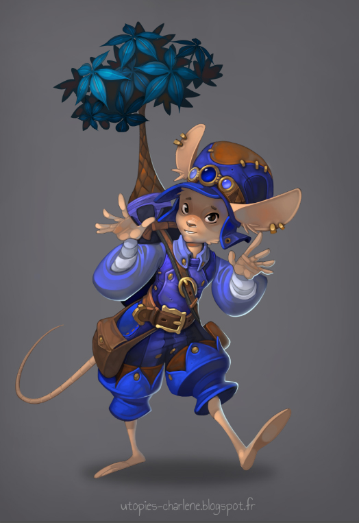 Mouse by Catell-Ruz