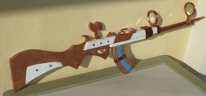 Caitlyn's gun - Fusil de League of Legends