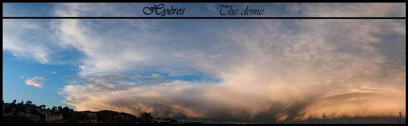 Hyeres' storm by GothxLuciole