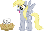 A Happy Derpy Hooves