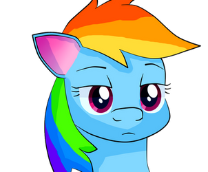 Rainbow Dash by BronnyThePooper