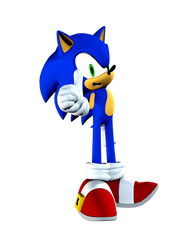 Sonic The Hedgehog Render by BronnyThePooper