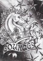 Courage of the Unicorn by BloodMoonEquinox