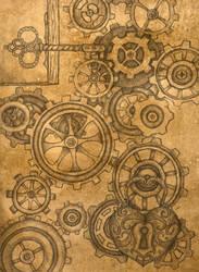 Clockwork: Key to My Heart by BloodMoonEquinox