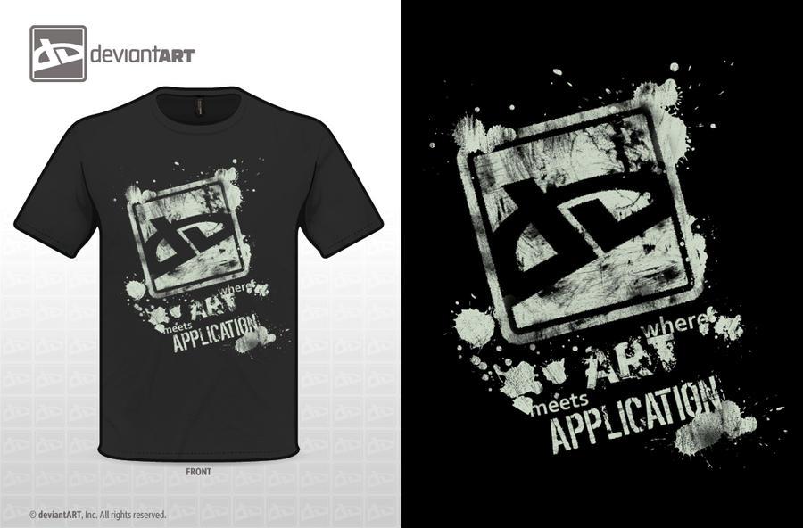 DeviantART T-shirt by BloodMoonEquinox