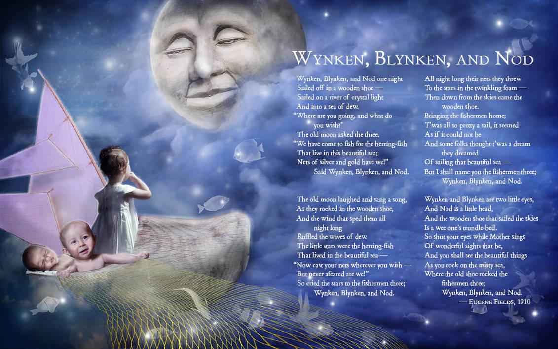 Wynken, Blynken, and Nod -- Spread by BloodMoonEquinox