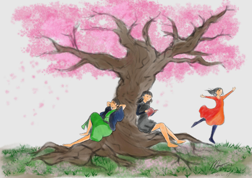 Sakura Cherry Blossom by MasanoEshi