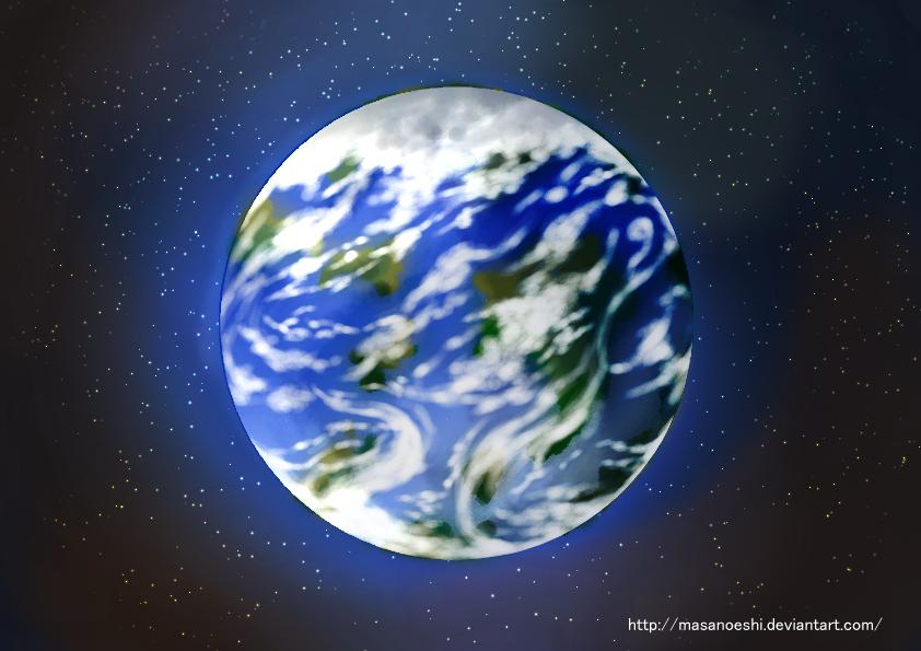 Planet B. by MasanoEshi