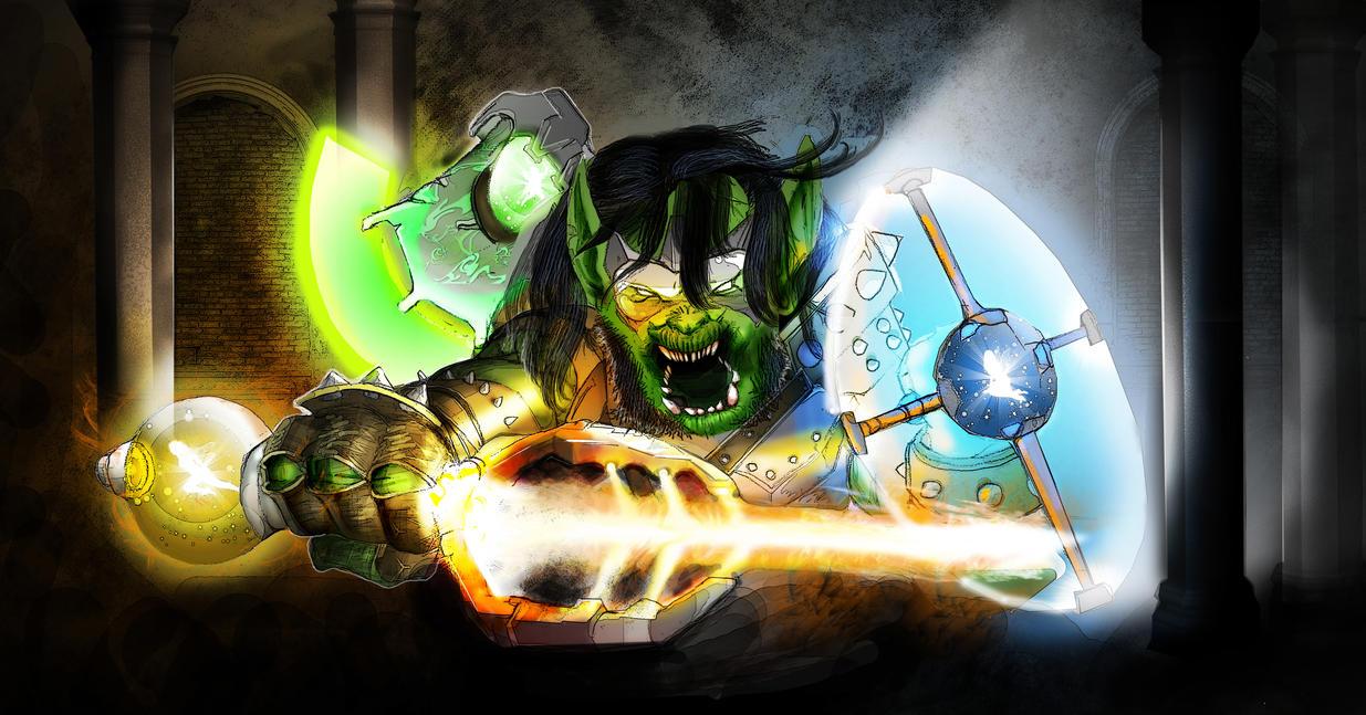 Pixie Fueled Goblin by Destructiconz