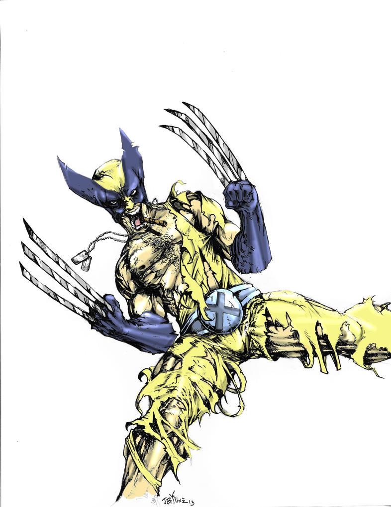 Wolverine by Destructiconz