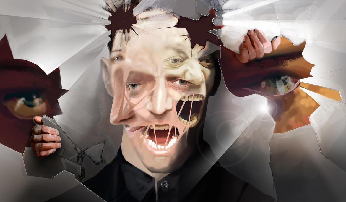 Man in the Mirror by Destructiconz