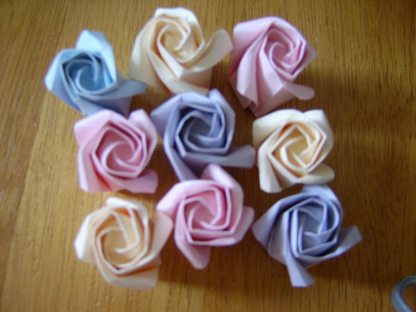How To Make Origami Rose. Make: Samsung Techwin