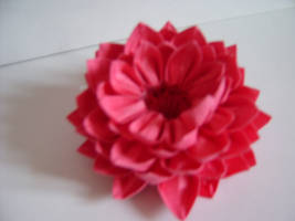3d origami lotus flower by juls2