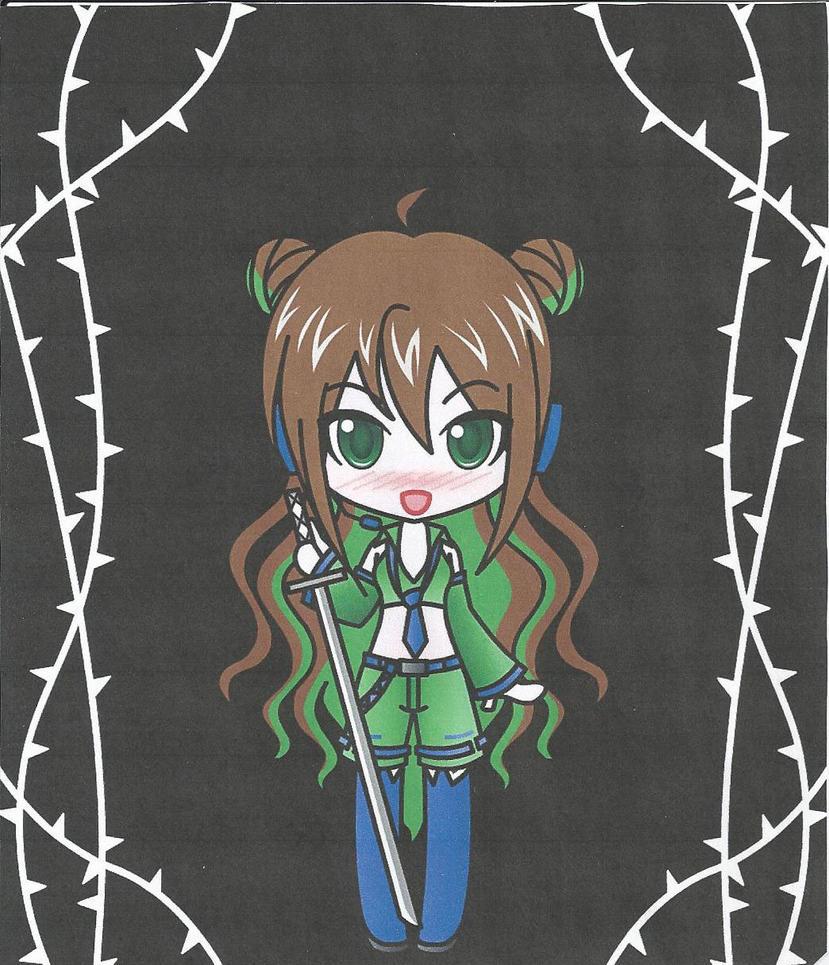 Mirose Keiko (my Vocaloid) by ScotlandSoto