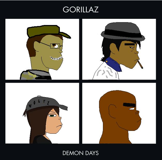 Murdoc Gorillaz Demon Days Gorillaz-Demon Days .:...