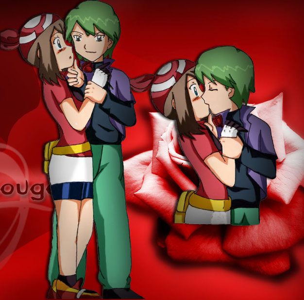 contestshipping kiss may drew by kimykaiba on DeviantArt