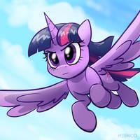 Twilight's flight