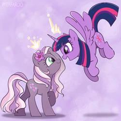 Reluctant Purple Princesses