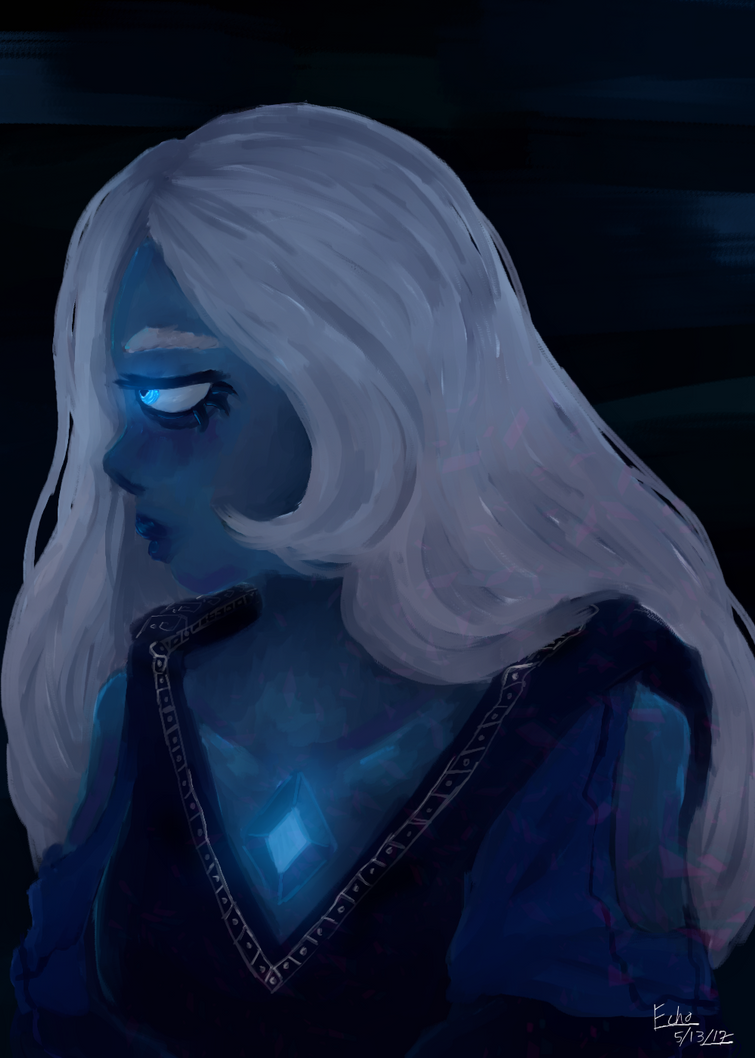 Blue Gaymond 2 by Echonomoly