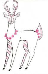 Rose Coloured Deer