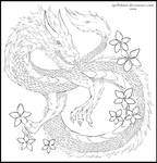The Dragon Lineart