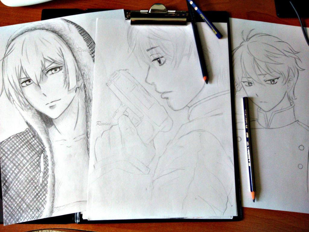 Line Art Zero : Fate zero kiritsugu emiya by m ze on deviantart