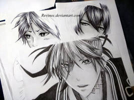 Black-white drawings