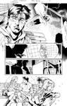 Super man #22page09 ink