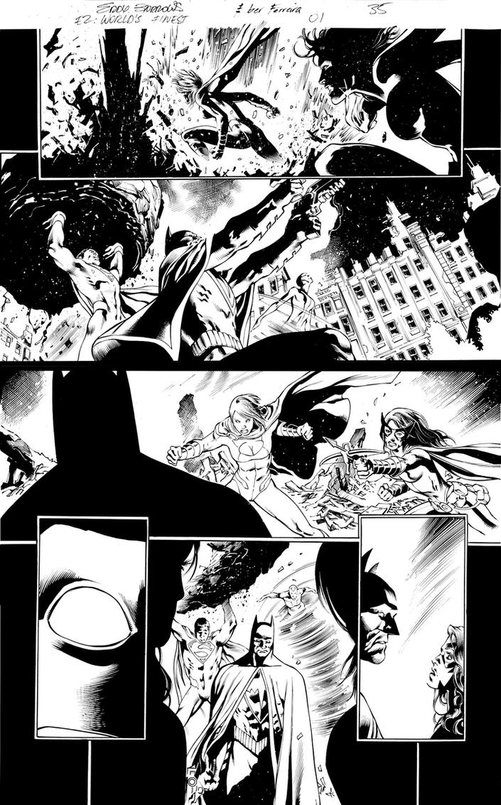 E2Words End#1 page 35 ink by eberferreira
