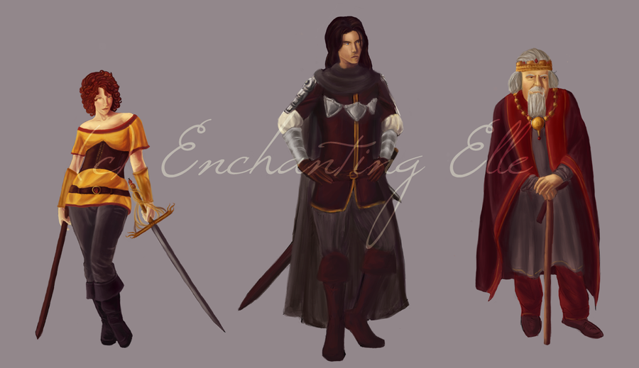 Character Design Price : Commission samples prices enchantingelle