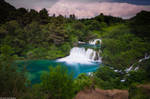 Waterfall of 'Krka national park'