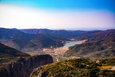 Lasithi Plateau - the view by Blizzard1975